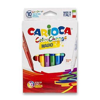 Obrázek produktu Dětské fixy Carioca Color Change - 9 barev + kouzelný fix
