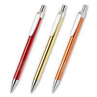 Lauria - kovová kuličková tužka, výběr barev