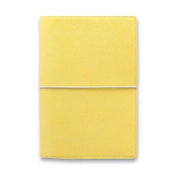 Obrázek produktu Osobní diář Filofax Domino Soft A6 - pastelově žlutá