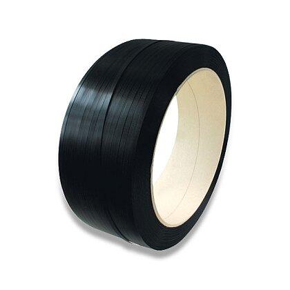 Obrázek produktu Vázací páska PP - 12×0,5 mm, návin 3000 m, černá