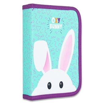 Obrázek produktu Penál Oxy Bunny - 1patrový, 2 chlopně
