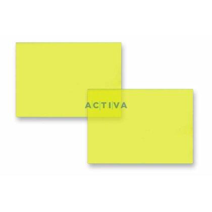 Obrázok produktu IBICo - predná strana pre krúžkové viazače - A4, 0,2 mm,100 ks, žltá