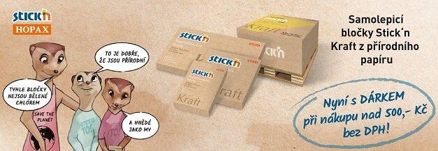 Bločky Stick´n Kraft