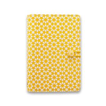 Obrázek produktu Osobní diář Filofax Impressions A6 - žlutá/bílá