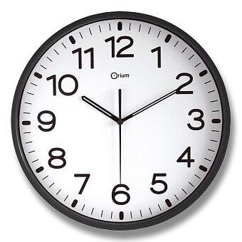 Obrázek produktu Nástěnné hodiny Cep orium 11679 - černé, 30 cm