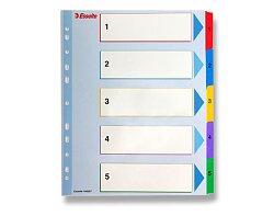 Papírový rozlišovač Esselte Project Maxi