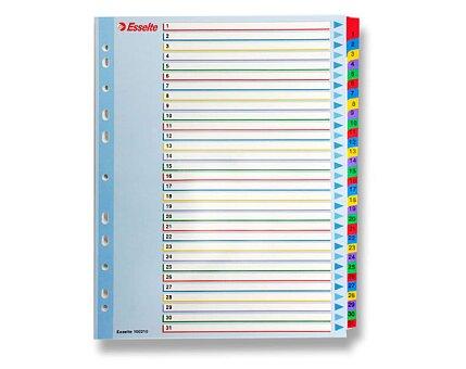 Obrázek produktu Papírový rozlišovač Esselte Project Maxi - A4 +, barevný, 1-31 (31 listů)