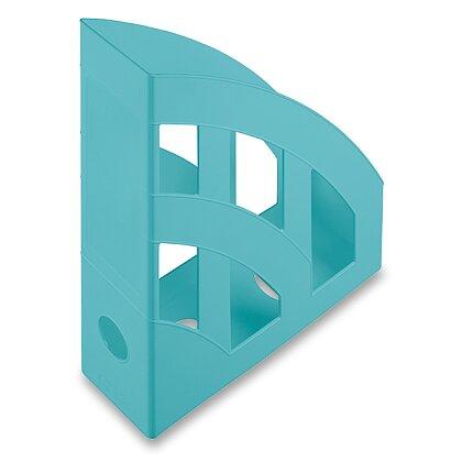 Obrázek produktu Helit Economy - plastový stojan na katalogy - tyrkysový