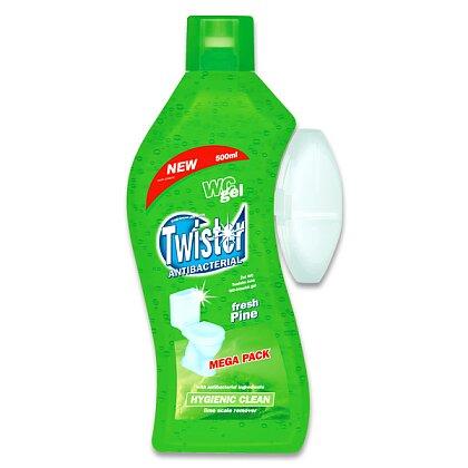 Obrázek produktu Twister WC Gel - prostředek na toalety - Pine, 500 ml