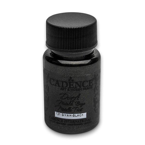 Akrylové barvy Cadence Dora Metalic černá