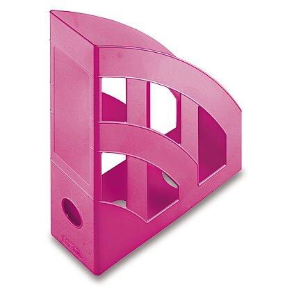 Obrázek produktu Helit Economy - plastový stojan na katalogy - růžový