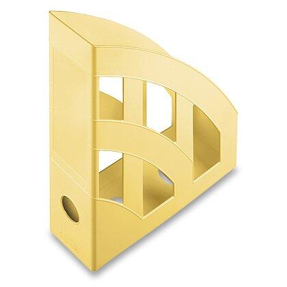 Obrázek produktu Helit Economy - plastový stojan na katalogy - světle žlutý