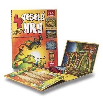 Obrázek produktu 4 veselé hry - edice Duhová kočka