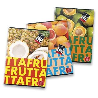 Obrázek produktu Školní sešit Pigna Fruits - A5, linkovaný, 40 listů, mix motivů