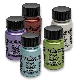Obrázek produktu Akrylové barvy Cadence Dora Metalic - 50 ml, výběr barev