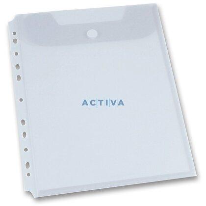 Obrázek produktu Foldermate Clear Binder Carry File - spisovka A4 - transparentní