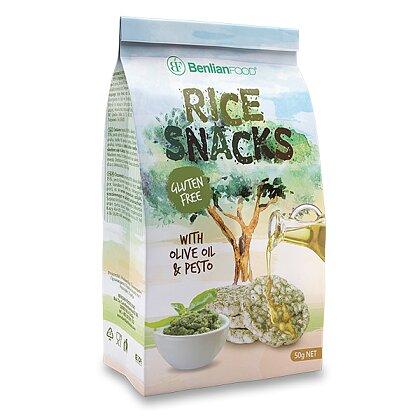 Product image Rice Snacks - rice sandwiches - pesto, 50 g