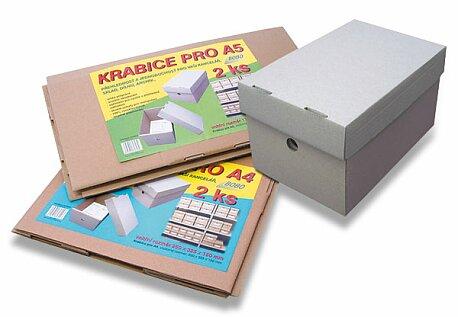 Obrázek produktu Krabice Bobo - A4, 250 x 325 x 150 mm, 2 ks