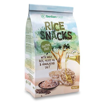 Product image Rice Snacks - Rice Sandwiches - Wild Rice, 50 g
