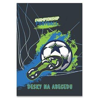 Obrázek produktu Desky na abecedu Fotbal