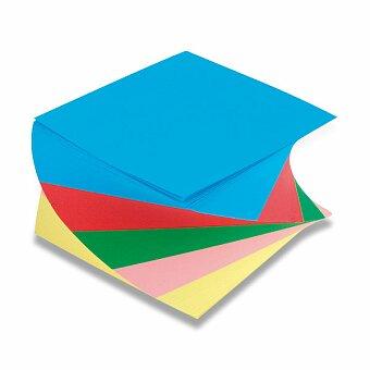 Obrázek produktu Poznámkový bloček barevná vrtule - 9 x 9 x 5 cm