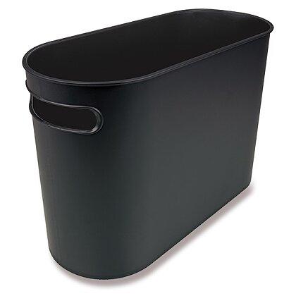 Product image Helit Oval - waste bin - 178 x 450 x 300 mm, 35 l