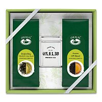 Sada sypaných černých čajů s dózou Oxalis Indien