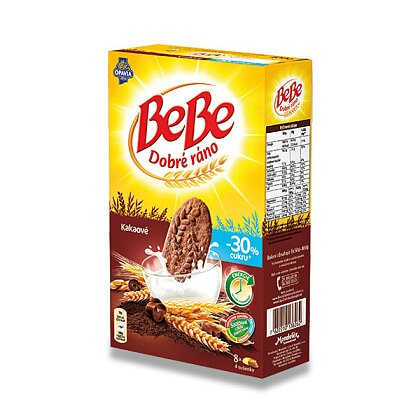 Obrázek produktu Opavia BeBe - kakaové cereální sušenky, 8 x 50 g