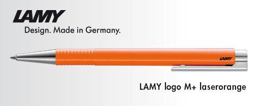 Logo M+ laserorange