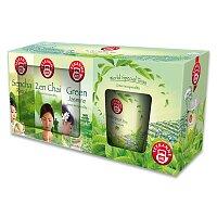Sada zelených čajů s hrnkem Teekanne OnPack