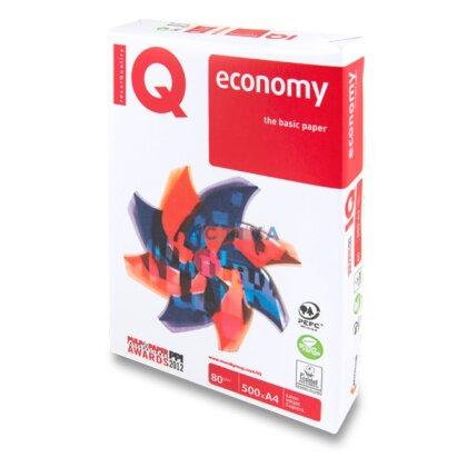 Obrázok produktu IQ Economy - xerografický papier - A4, 80 g, 5 × 500 listov