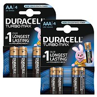 Alkalické baterie Duracell Turbo