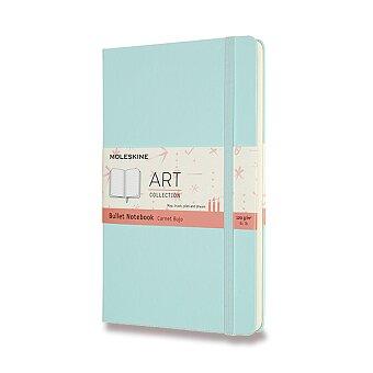 Obrázek produktu Zápisník Moleskine ArtBullet - tvrdé desky - L, tečkovaný, sv.modrý