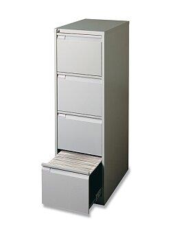 Obrázek produktu Kartotéka Bisley IPCAA - 4 zásuvky, 1321 x 413 x 622 mm