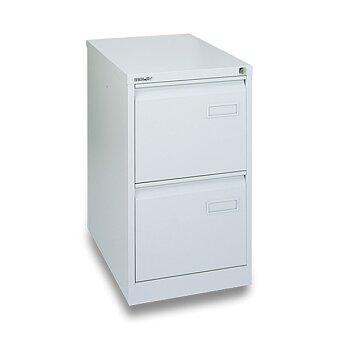 Obrázek produktu Kartotéka Bisley IPCAA - 2 zásuvky, 711 x 413 x 622 mm, šedá