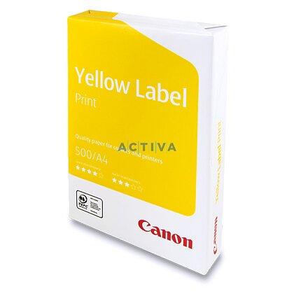 Obrázok produktu Canon Yellow Label Print - xerografický papier - A4, 80 g, 5 × 500 listov
