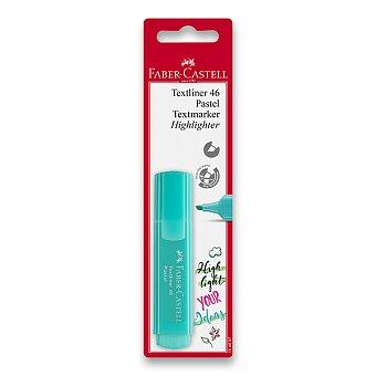 Obrázek produktu Zvýrazňovač Faber-Castell Textliner 46 - blistr, mix barev