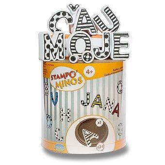 Obrázek produktu Razítka Aladine Stampo Minos - Česko-slovenská abeceda
