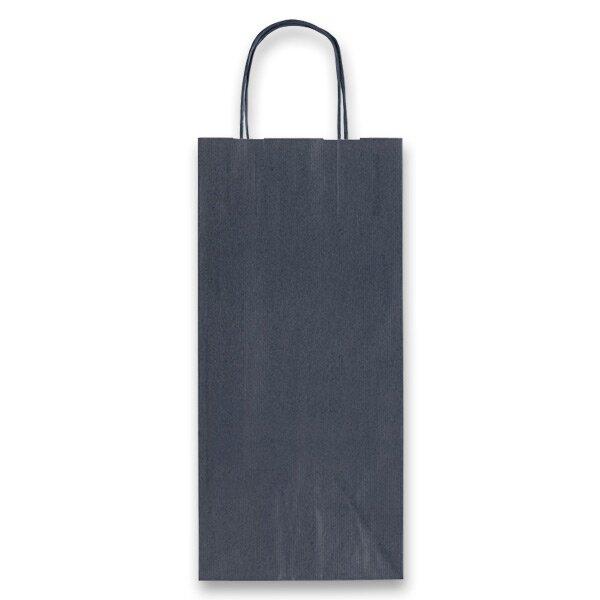 Dárková taška Allegra modrá, lahev