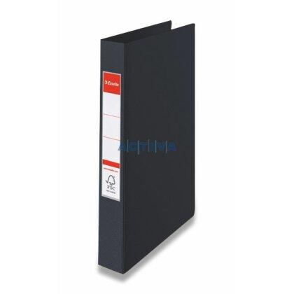 Obrázek produktu Esselte Vivida - 4-kroužkový pořadač - A4, 42 mm, černý