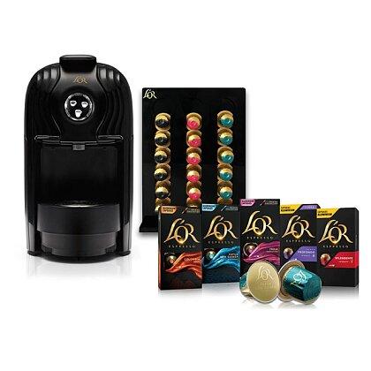 Obrázek produktu L'OR Lucente Pro - kapslový kávovar - kávovar a stojánek + 300 kapslí