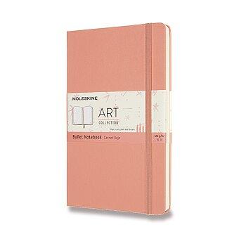 Obrázek produktu Zápisník Moleskine Art Bullet - tvrdé desky - L, tečkovaný, světle růžový