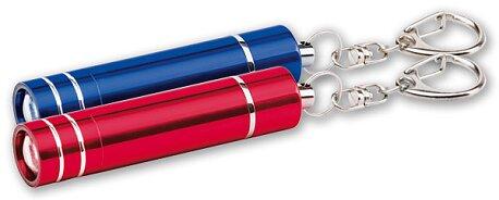 Obrázek produktu Přívěšek na klíče s LED svítilnou, výběr barev - červená
