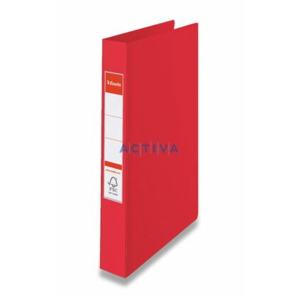 Obrázek produktu Esselte Vivida - 4-kroužkový pořadač - A4, 42 mm, červený
