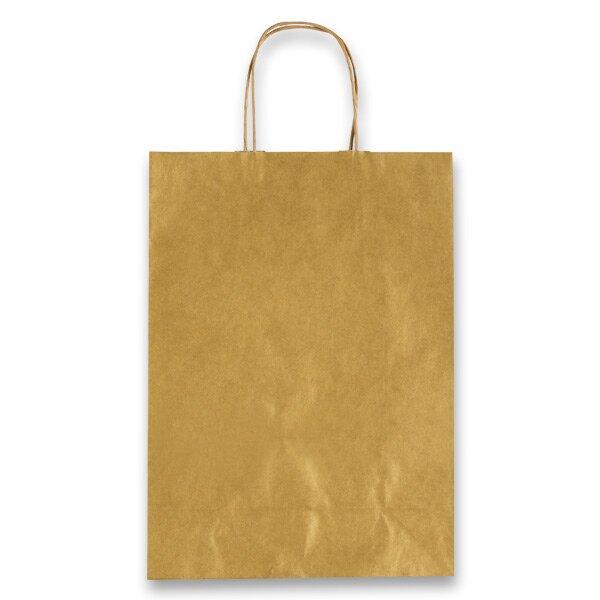 Dárková taška Allegra zlatá, XS