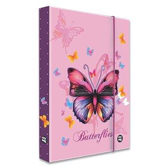 Obrázek produktu Box na sešity Motýl - A5 JUMBO