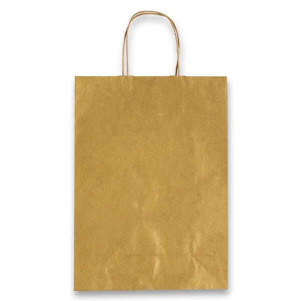 Dárková taška Allegra zlatá, M
