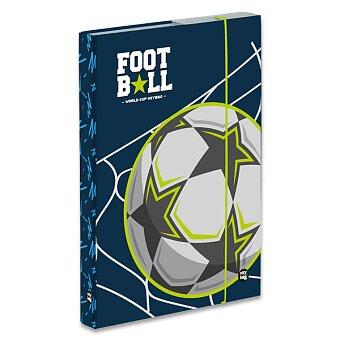 Obrázek produktu Box na sešity Fotbal - A5 JUMBO