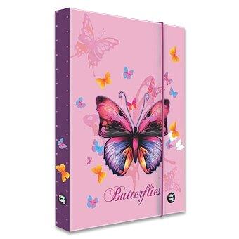 Obrázek produktu Box na sešity Motýl - A4 JUMBO