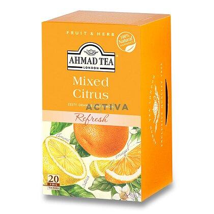 Obrázek produktu Ahmad Tea Citrusový mix  - ovocný čaj - 20 ks